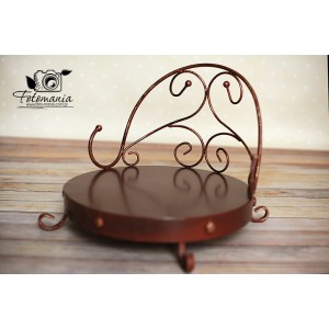 Fotel metalowy