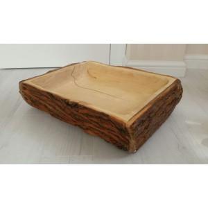 Korytko drewniane